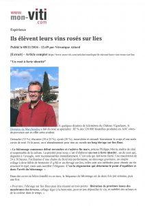 monviti - Elevage sur lies